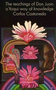 Book cover to Teachings of Don Juan by Carlos Casteneda