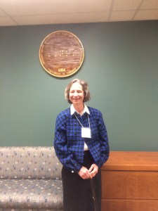 Sue, at the National Library Service