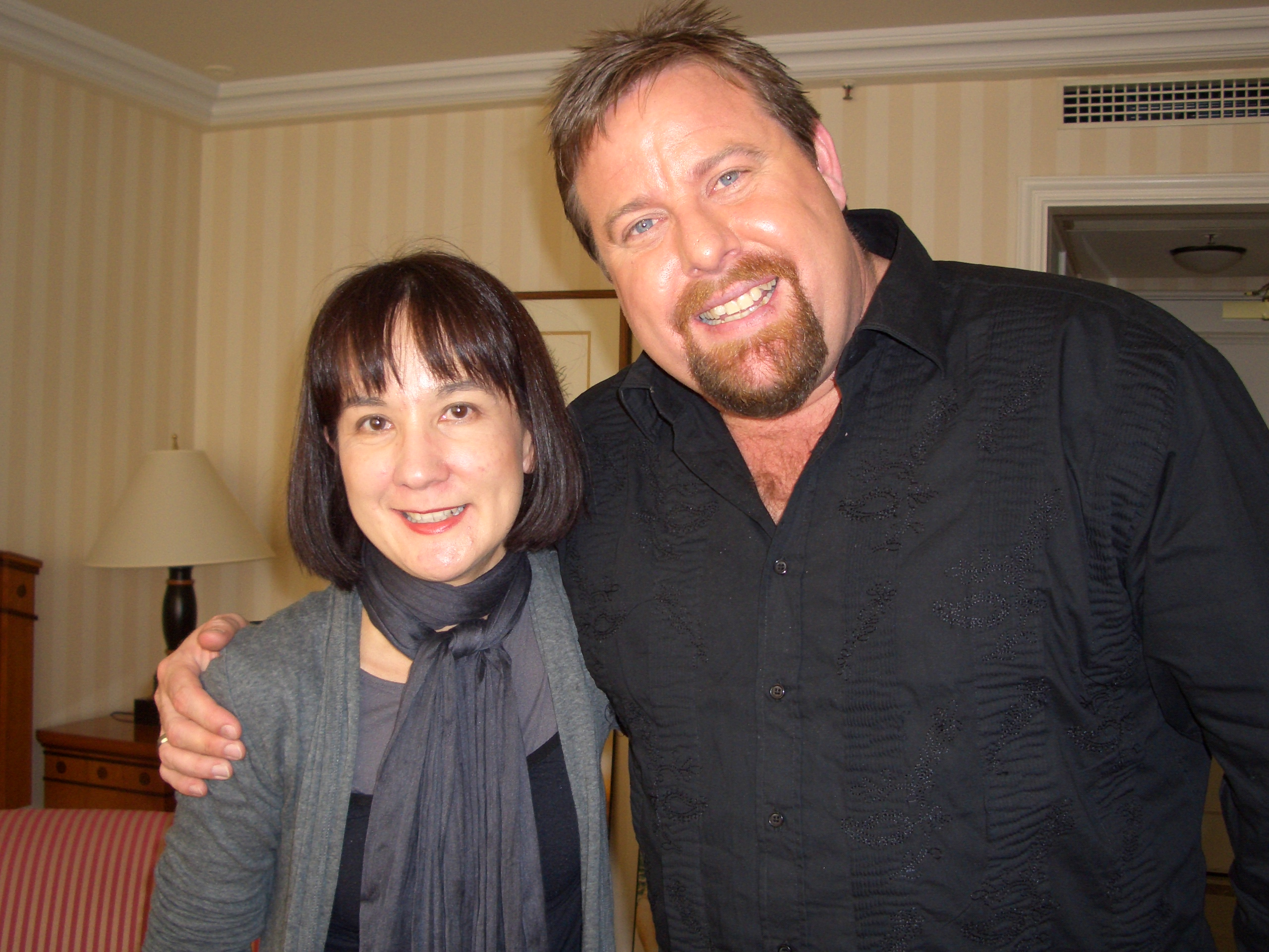 "Sue meets Shane ""Kenny"" Jacobson"""