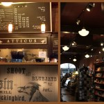 The Saturday in Spokane began with a stop at Atticus, where I enjoyed a Raspberry Oat Bar and a great American!