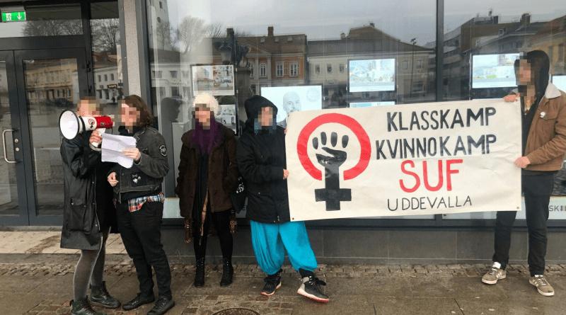 Radikal 8 mars i Uddevalla