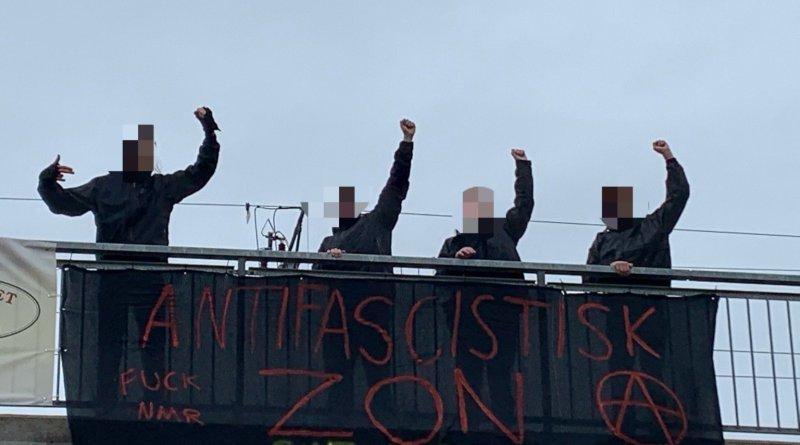 Antifascistisk zon i Uppsala