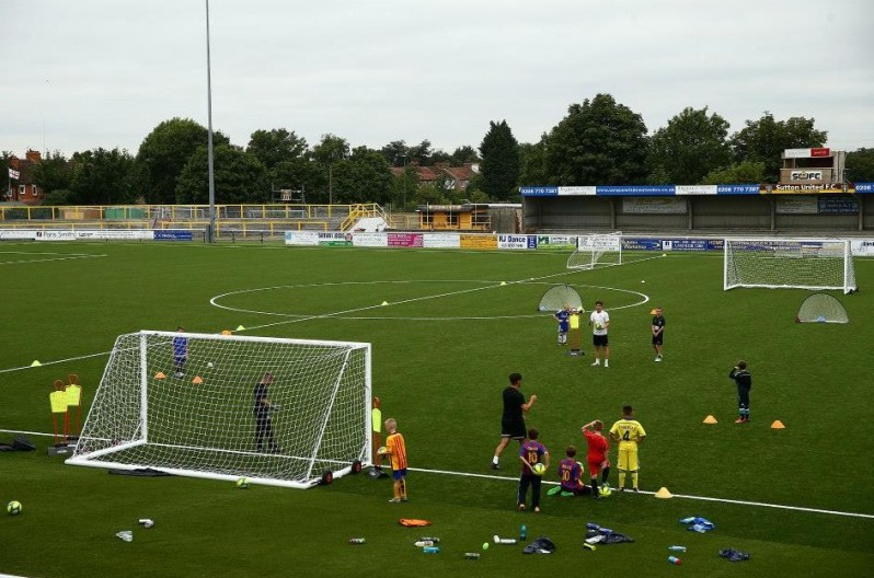 Sutton United 3G Pitch Football School_1003