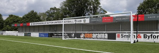 Sutton United FC 3G Pitch Technology