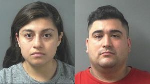 Dayan Median Flores and Luis Eduardo Posso Jr mug shots