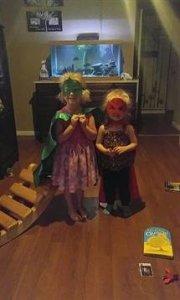 Charlette Dawkins and her half sister Ava