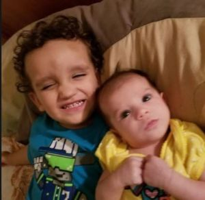 Lorenzo and Brooklyn Velasquez, who died in a hot car