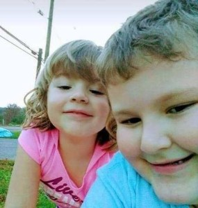 Brinley and Conner Snyder, alleged victims of mother Lisa