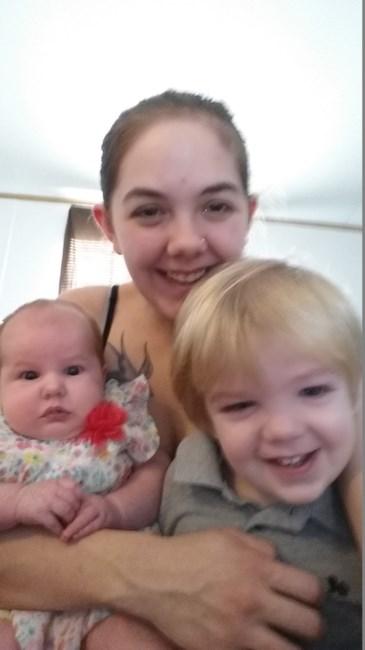 Abigail Neiger-Bickham with children Ava Littell and Jaxson Lee