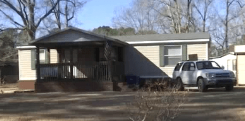 The home at 104 Denise Drive in Jacksonville, NC where Harper Littell was fatally injured, allegedly by father Zachary Littell.