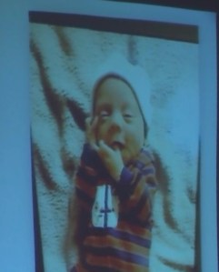 Groves trial: Evidence photo of infant Dylan Groves