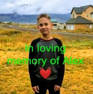 In loving memory of Alex (James Alexander Hurley)