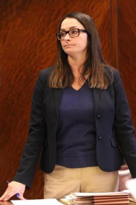 Harrison County Assistant Prosecutor Gina Snuffer.