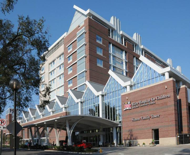 Riley Children's Hospital in Indianapolis. (Hospital website)