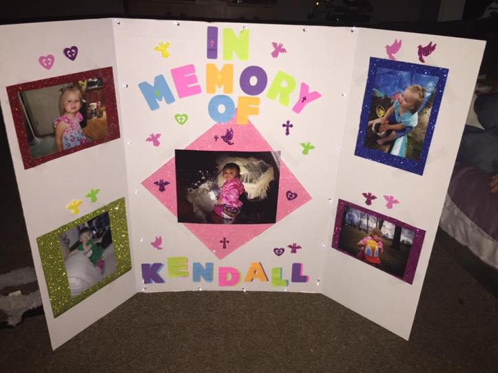 Sign for Kendall Lynn Doss
