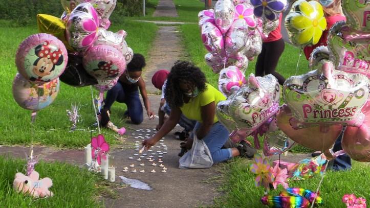 Daviana Landry vigil