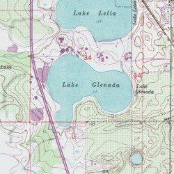 Lake Lelia and Lake Glenada