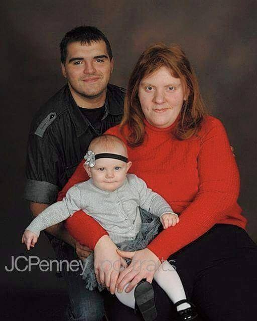 Davidson family photo with baby Kerrigan Rutherford