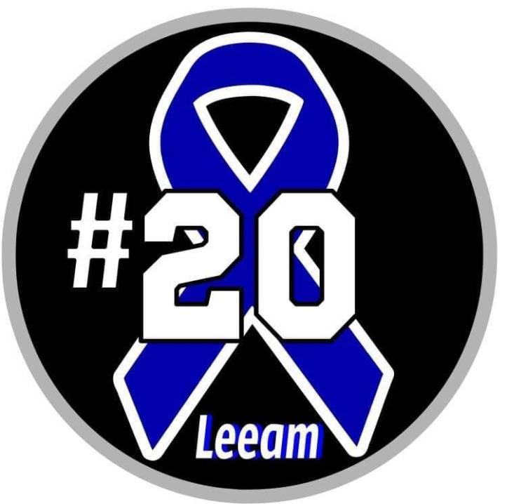 #20 Leeam Pritcher ribbon