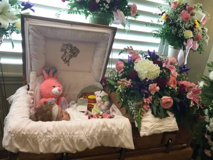 Arianna Stout casket