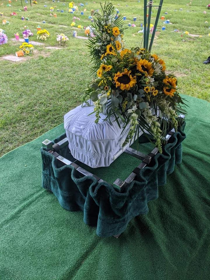 Erykah Taylor casket