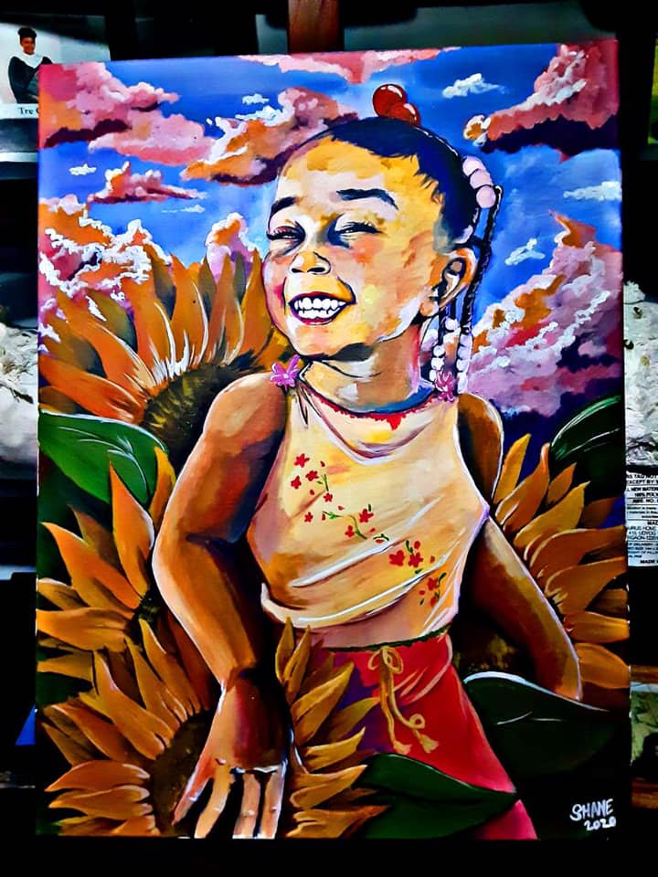 Erykah Taylor painting