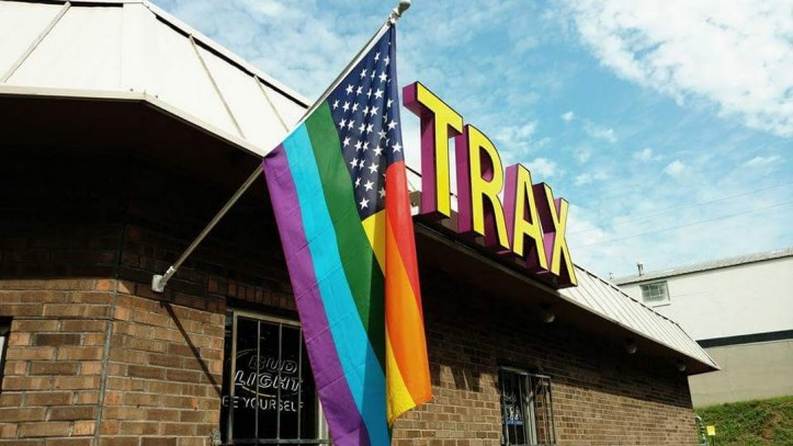 Trax gay bar in Nashville Tennessee