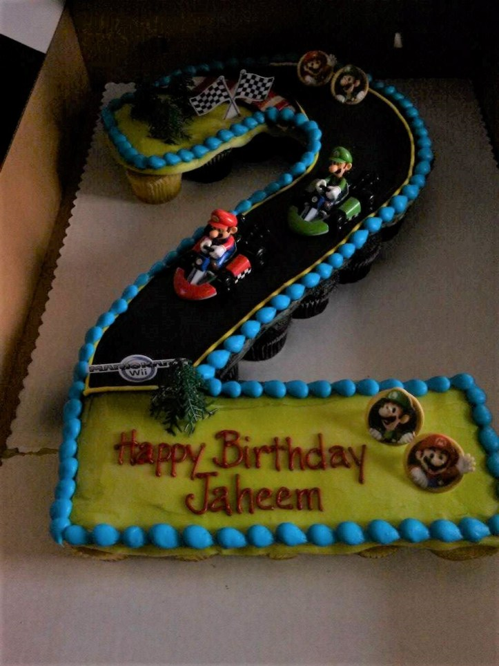 Jaheem Harris 2 birthday cake