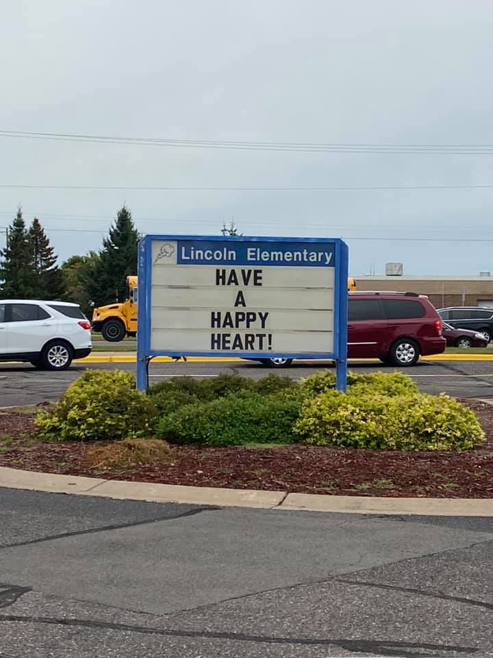 Autumn Hallow school motto have a happy heart
