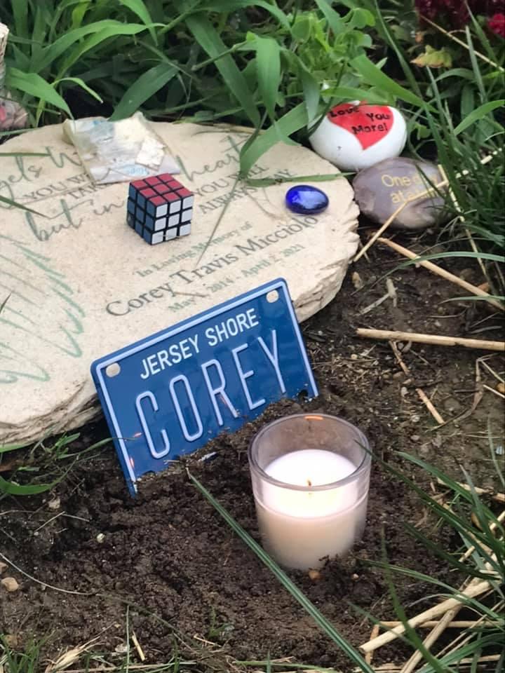 Corey Micciolo grave