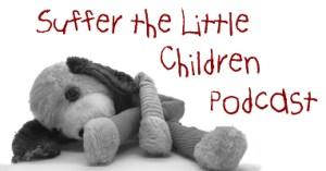 Suffer the Little Children Podcast website header