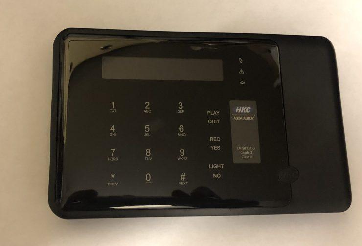 HKC Touch Keypad (Black) Image
