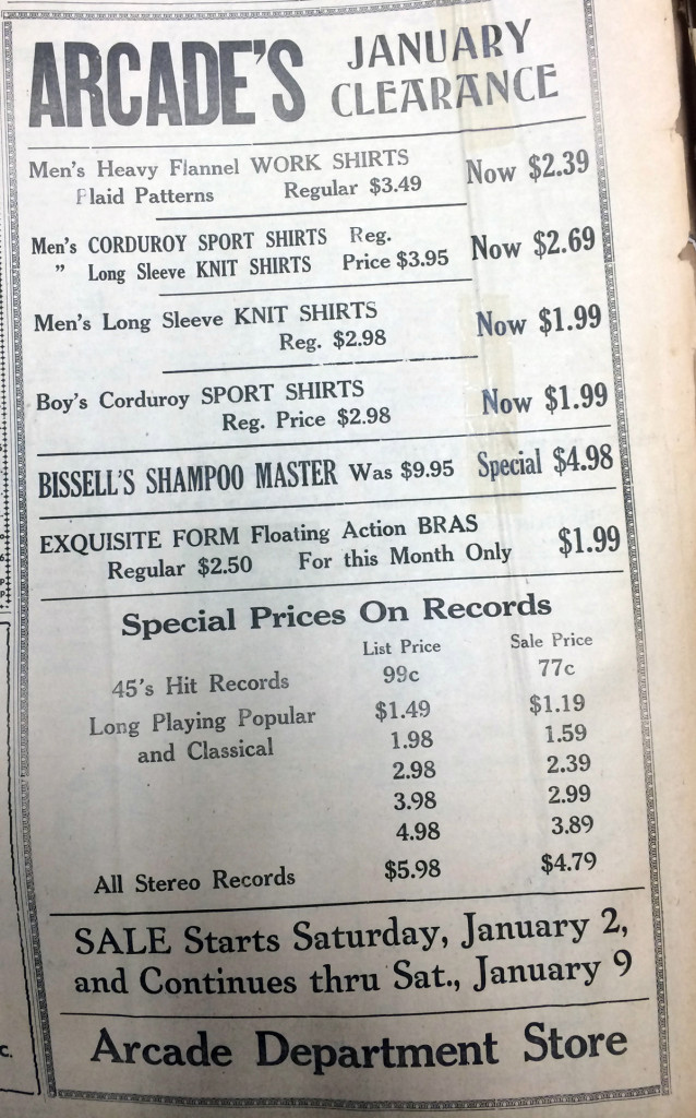 Arcade — January 1, 1960