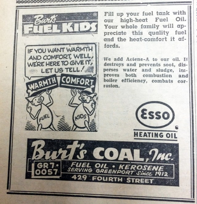 Burt's Coal, Inc. — January 1, 1965