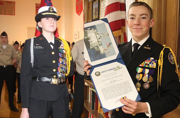 2015 NJROTC cadets