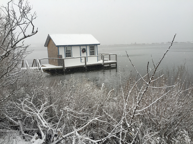 Southold Town snow