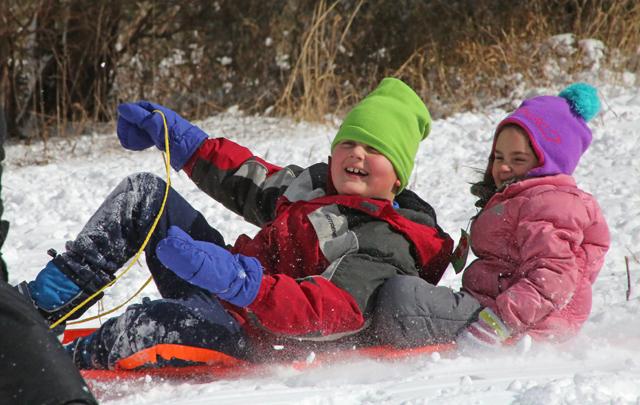 5_Mattituck sledding
