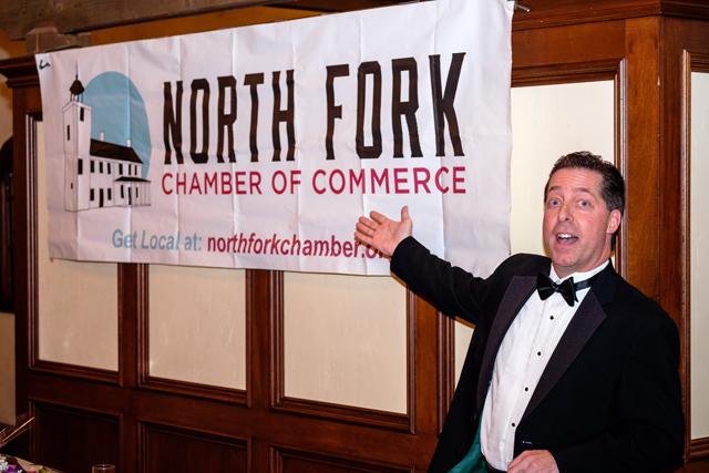 North Fork Chamber of Commerce president Tom Scalia.