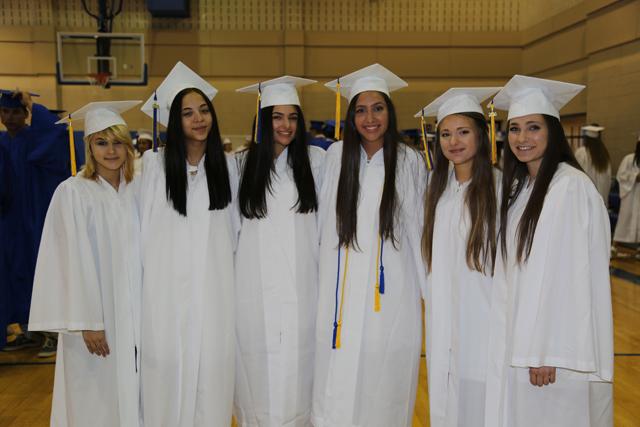 Alison LePre, Maria Capichana, Gabriella Pagano, Artemis Pando, Victoria Pagano and Cassidy Arnzen. (Credit: Krysten Massa)