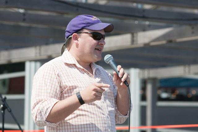 Greenport Village Trustee Doug Roberts. (Credit: Katharine Schroeder)