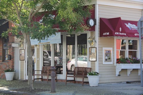 BBQ Bill's on Front Street in Greenport. (Credit: Carrie Miller, file)