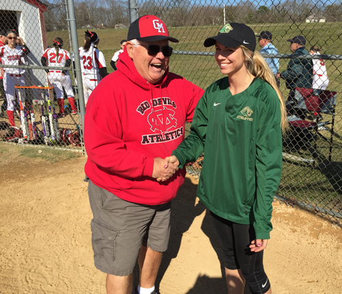 Bishop McGann-Mercy softball coach Jackie Zilnicki 041516