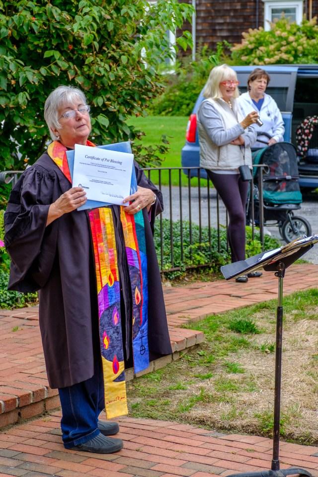 Rev. Dr. Ann Van Cleef of Orient Congregational Church. (Credit: Jeremy Garretson)