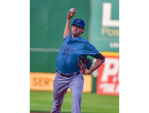 Bridgeport pitcher David Kubiak 090716