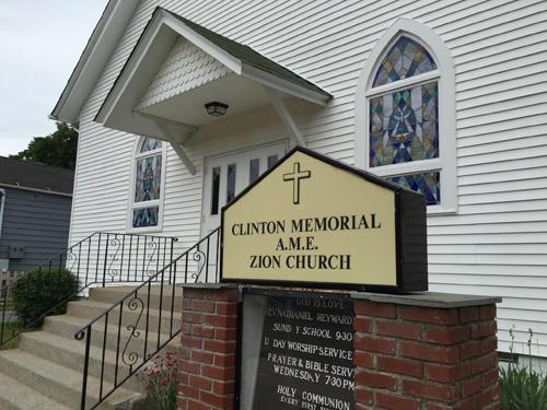 Clinton Memorial AME Zion Church in Greenport. (Credit: Paul Squire)