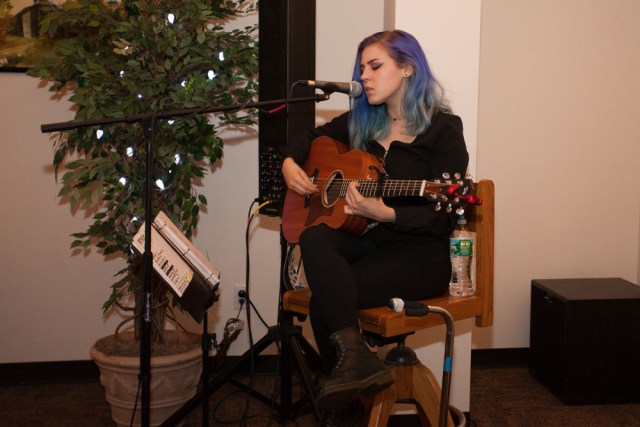 See performs downstairs. (Credit: Katharine Schroeder)