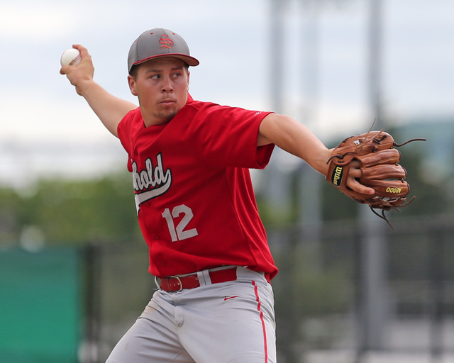 Southold's Alex Poliwoda pitched a gem in Saturday's Class C semifinal, but it wasn't enough for a victory. (Credit: Daniel De Mato)