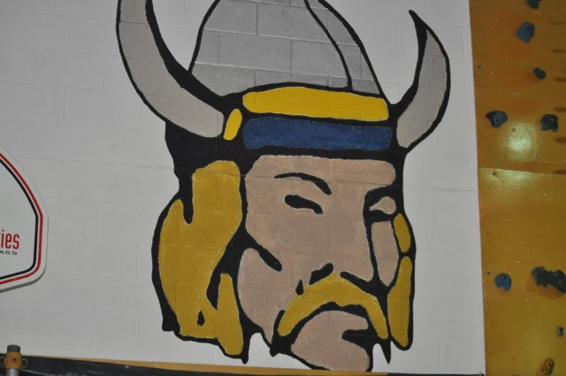 The Fishers Island High School sports teams are known as the Vikings. The school does not participate in the New York State Public High School Athletic Association, playing against schools from Connecticut instead. (Grant Parpan photo)