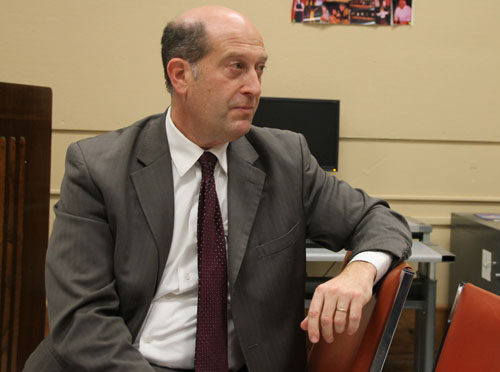 PAUL SQUIRE PHOTO | Southold superintendent David Gamberg.