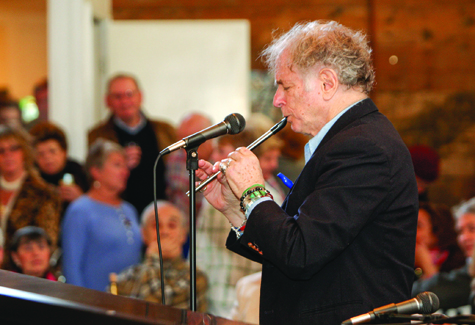 RANDEE DADDONA FILE PHOTO | David Amram has composed more than 100 orchestral and chamber music works, written many scores for Broadway theater and film, two operas and three books. he plays at Borghese today.